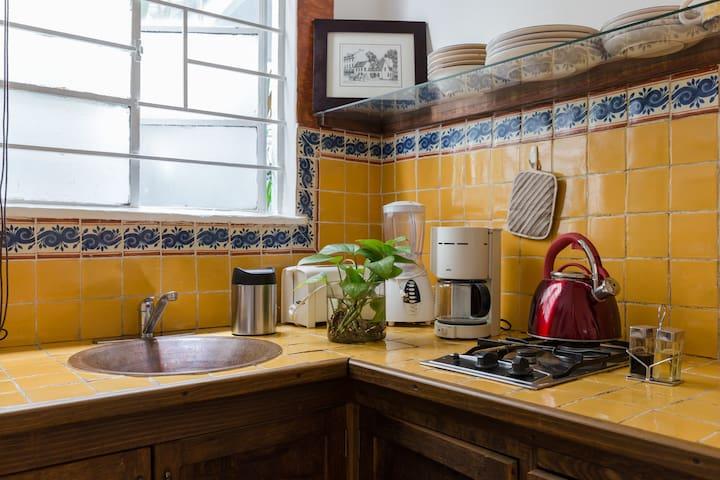 Bonito apartamento frente a Parque México, Condesa