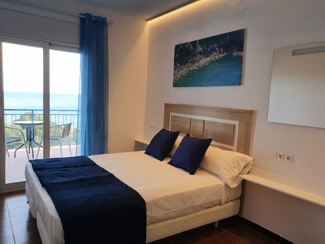 Habitación doble vistas al mar
