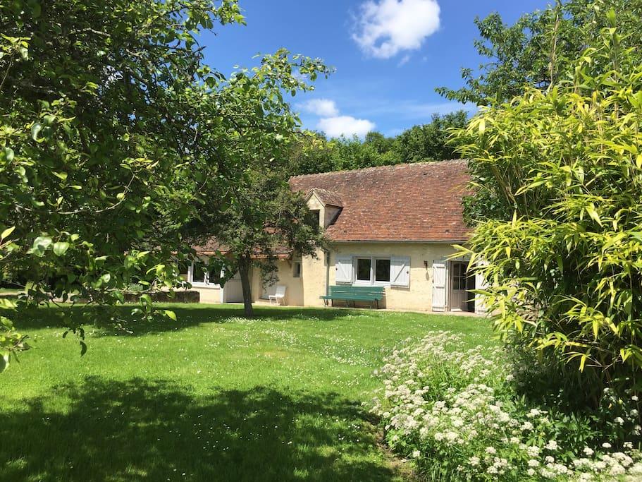 Maison de charme typique du perche cottages louer - Maison de charme perche ...