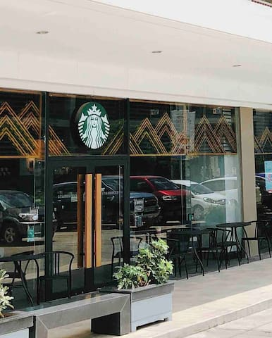 STARBUCKS AT THE GROUND FLOOR