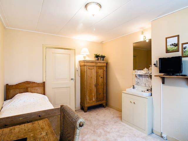kamer 1 met mogelijkheid voor extra 1 persoonsbed