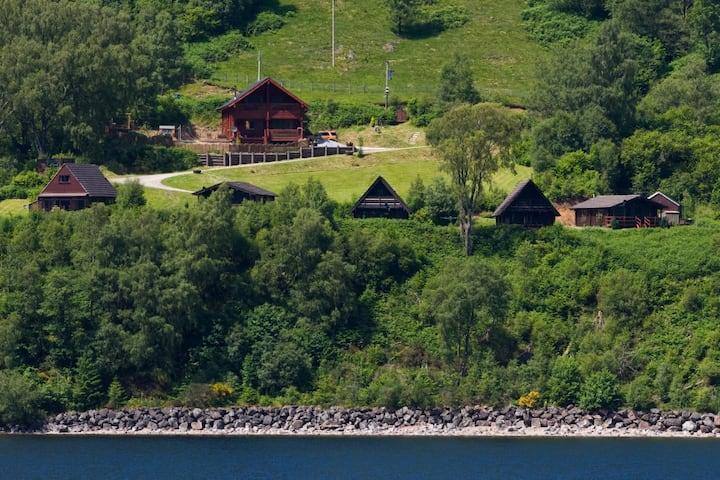 Bramble Lodge at Great Glen Lodges