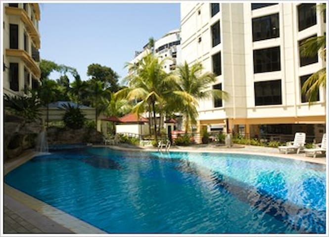Deluxe Room, 5mins to Sentosa & Universal's Studio - Singapore - Lejlighed