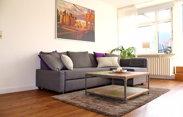 Super zentrale & ruhige Wohnung