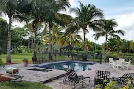 Luxury Estate Pool Home - Sleeps 8 - Palm Beach Gardens - Casa
