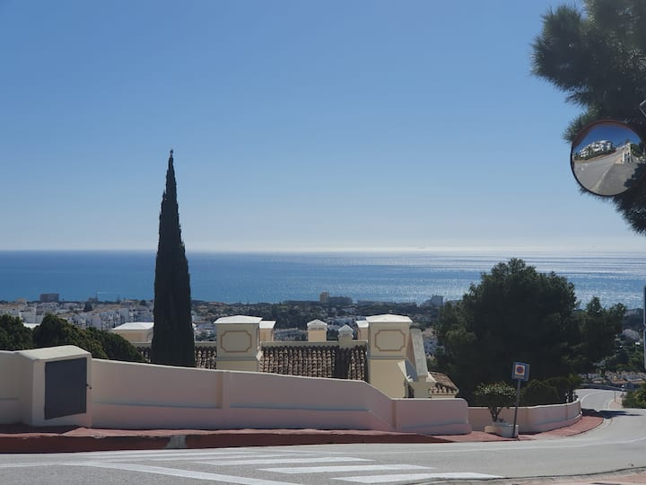 Penthouse avec Jacuzzi vue sur Mer