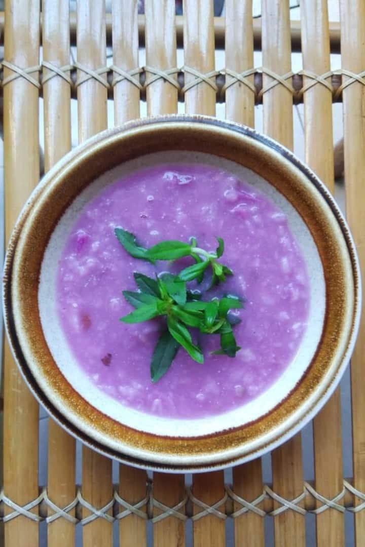Purple Yum Soup