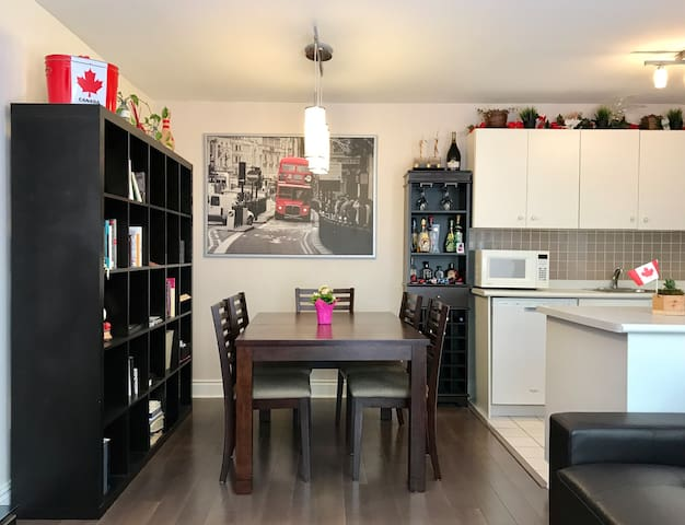 smile  quiet downtown 2 bedroom home with parking