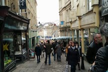 Frome market. First Sunday every month. On the cobbles of Catherine hill. The most successful market that stretches across the whole town. Amazing things.  First Sunday of the month.