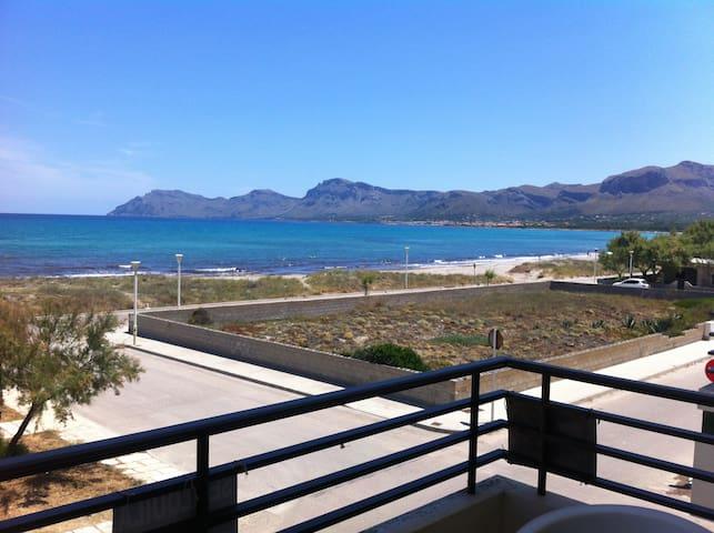Apartamento a 25 metros de la playa - Son Serra de Marina - Flat