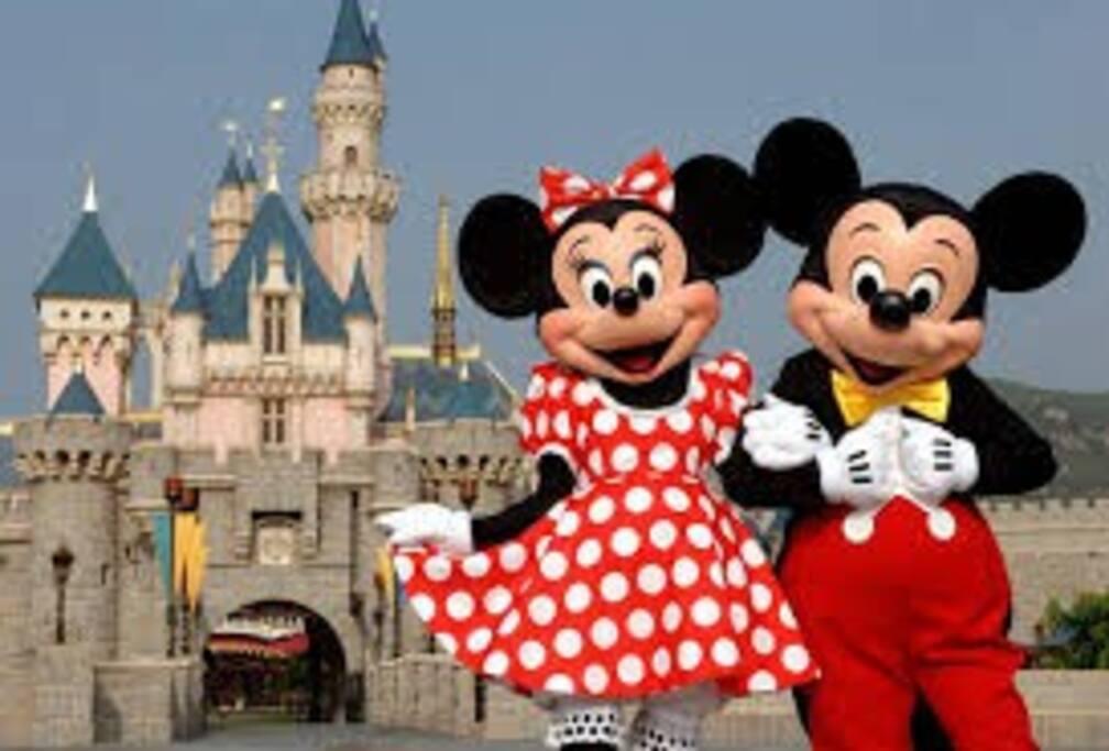 Disneyland 20 minutes, 14 miles