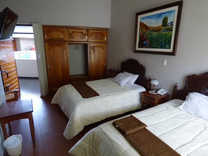 Inti Ñan Hotel - Twin Room - 2 beds