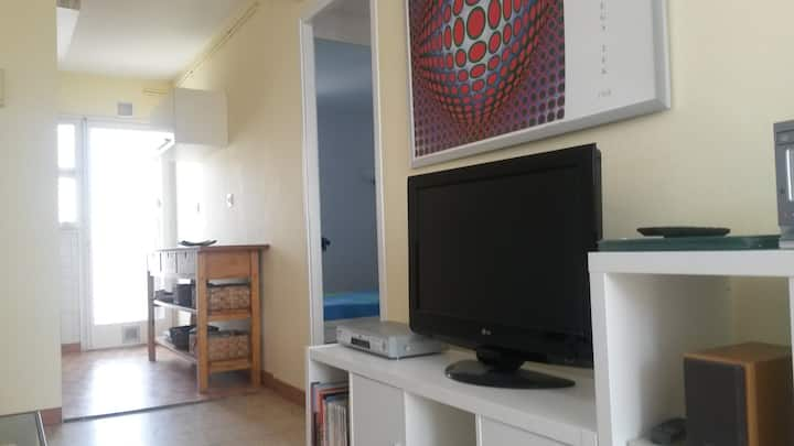 Beach apartment in Castelldefels 2 rooms+parking