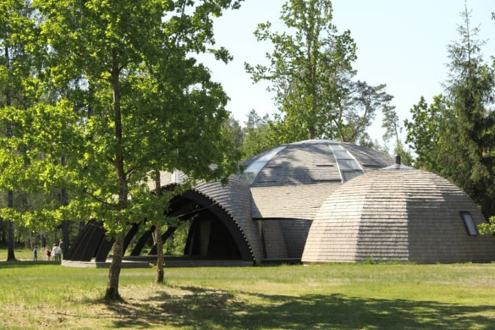 Boutique dome house with artistic feel near Riga