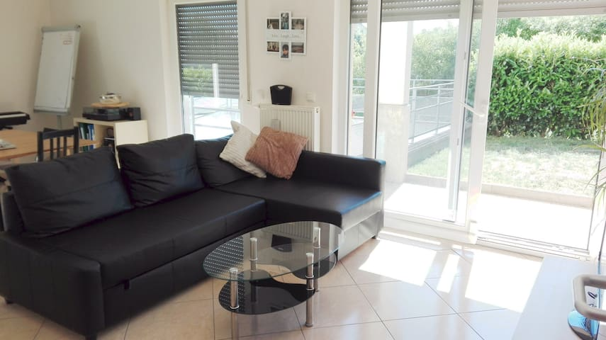 Super bright apartment,best district of Luxembourg