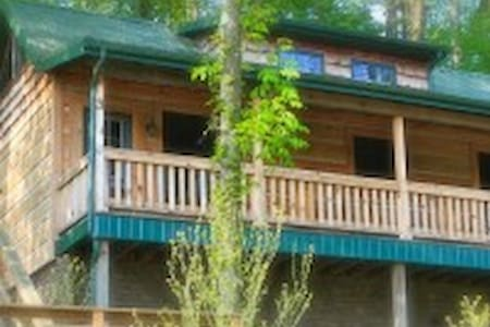 Roscoe Hillside Cabins- Bear Cabin-sleeps 2-4pp