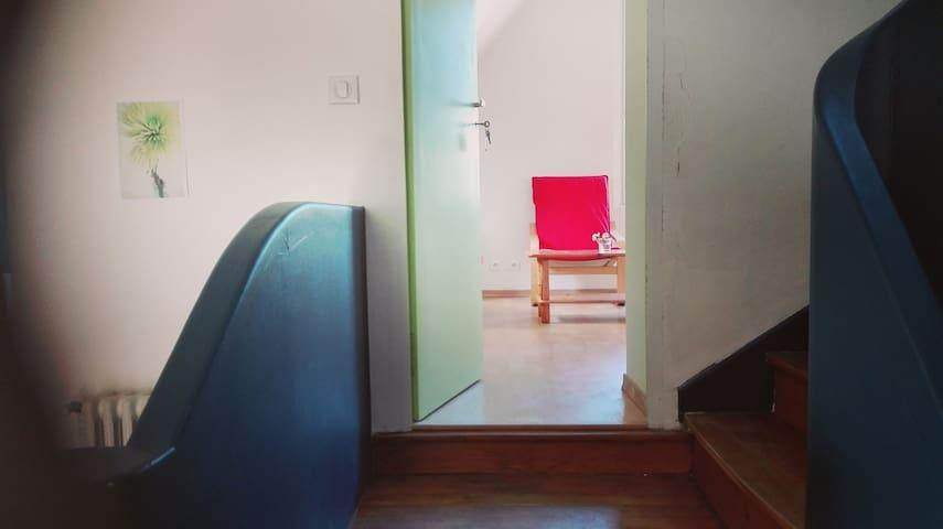 Chambre cosy, proche du centre ville de Morlaix