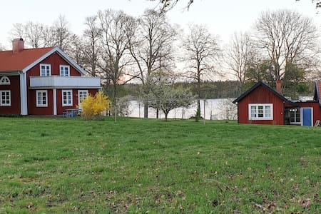Cottage by the lake in fabulous Småland