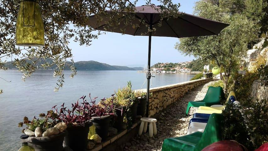 Linovrohia villa in Ionian islands