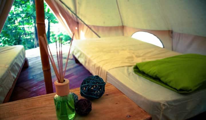Glamping: 2 single beds - Tamarindo