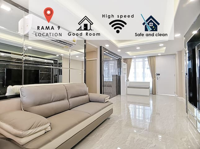 LUXURIOUS WORTHY APARTMENT:2BR /WIFI /MRT