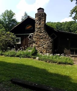 Rustic Confluence Cabin with Private Stream.