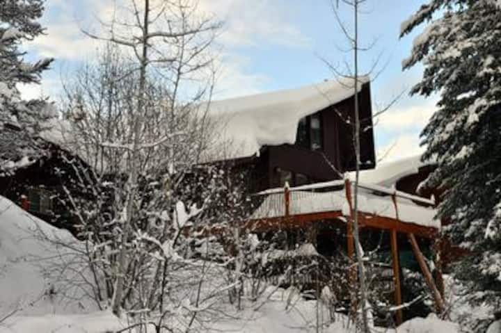 Hilltop Lodge: Private Hot Tub, Fire Pit, Wrap Around Deck
