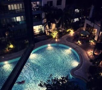 (2)都市繁华现代风格公寓近-机场-滨海湾-鱼尾狮-体育场-巴士站-MRT - シンガポール