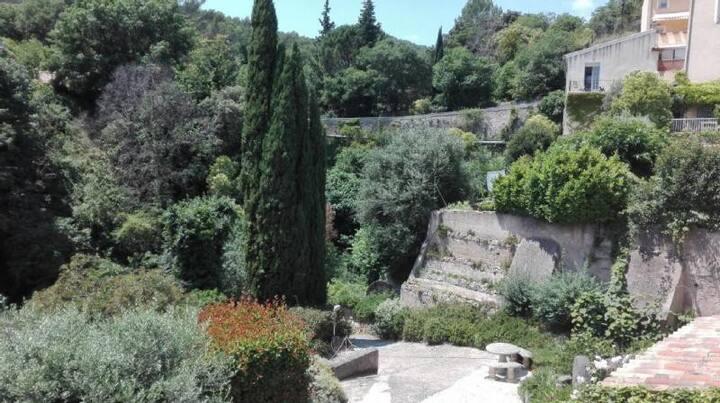 APPARTEMENT DE CARACTÈRE 4 pers terrasse piscine