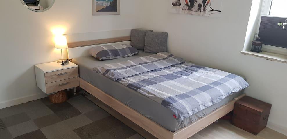 Privatzimmer in HH-Hamm. Schlafen wie ein König