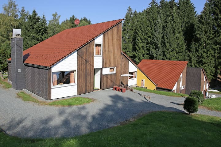 Cosy holiday home in the Hochsauerland with terrace at the edge of the forest