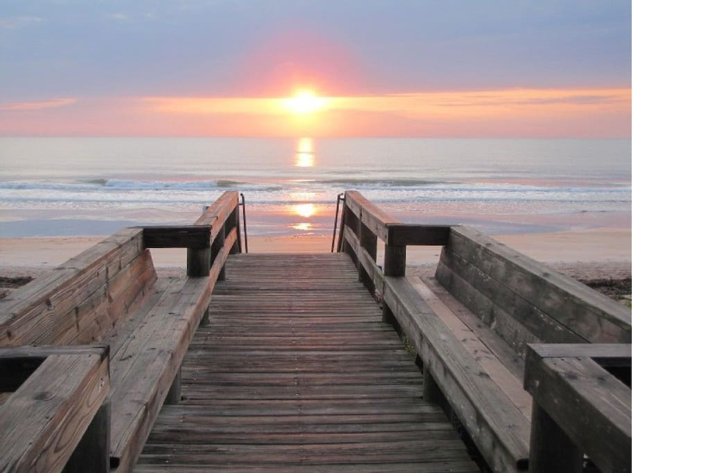 Sunrise in Ormond-by-the-Sea!