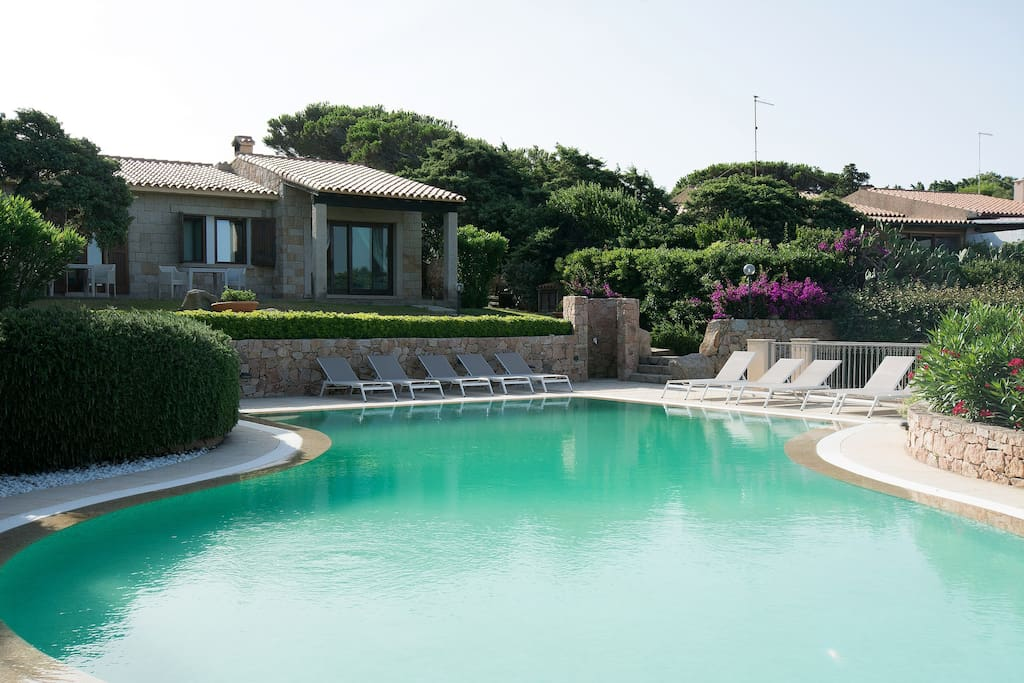 private pool of the B&B