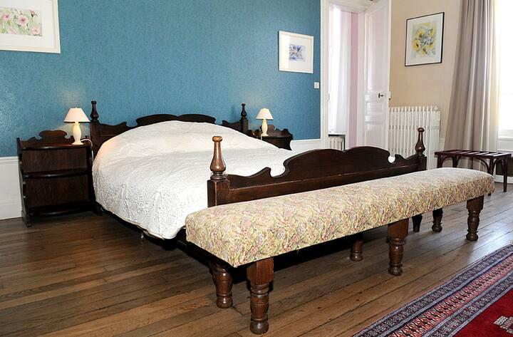 Blauwe suite