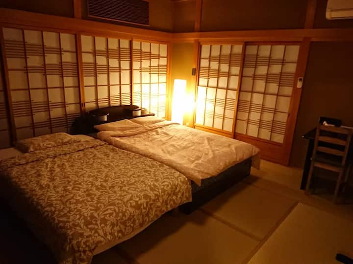 Guest house Ivy 和室① 【駅徒歩5分/銭湯,コンビニ,スーパー/cafe併設】