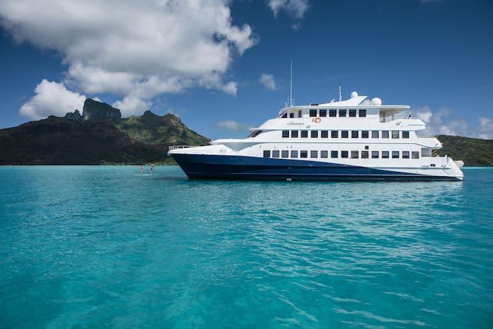 Haumana cruises - Raiatea -> Bora Bora