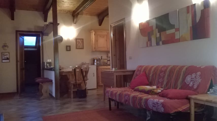 Baita in montagna. - Sant'Andrea Pelago - Appartement