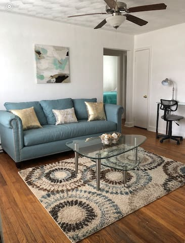 2BR Teal Downstairs Apartment