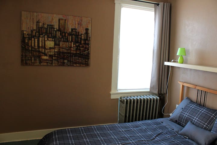 Comfy and calm room near downtown - Pittsburgh - Rumah