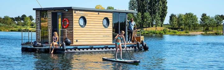 Huisboot Comfort Klasse M Maasplassen Limburg
