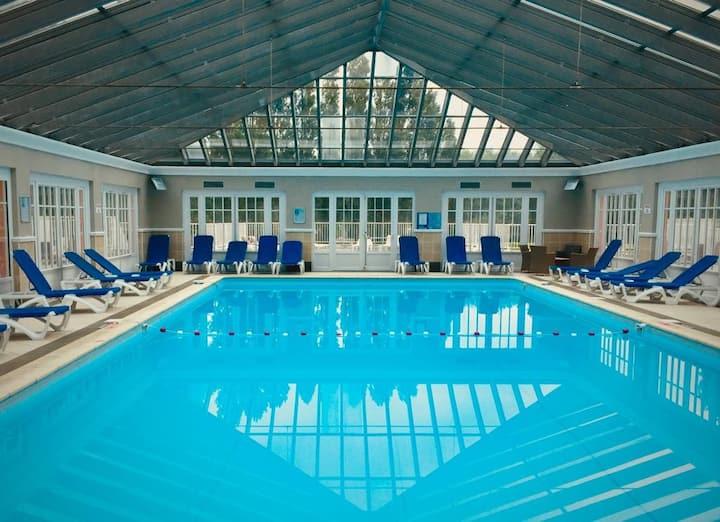 Superbe appartement bohème 6p piscine couverte.
