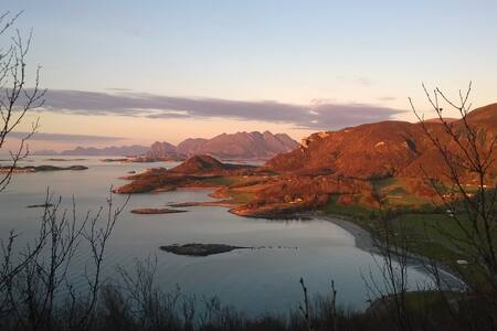 Rustic cottage with view to the midnight sun - Bodø - 小木屋