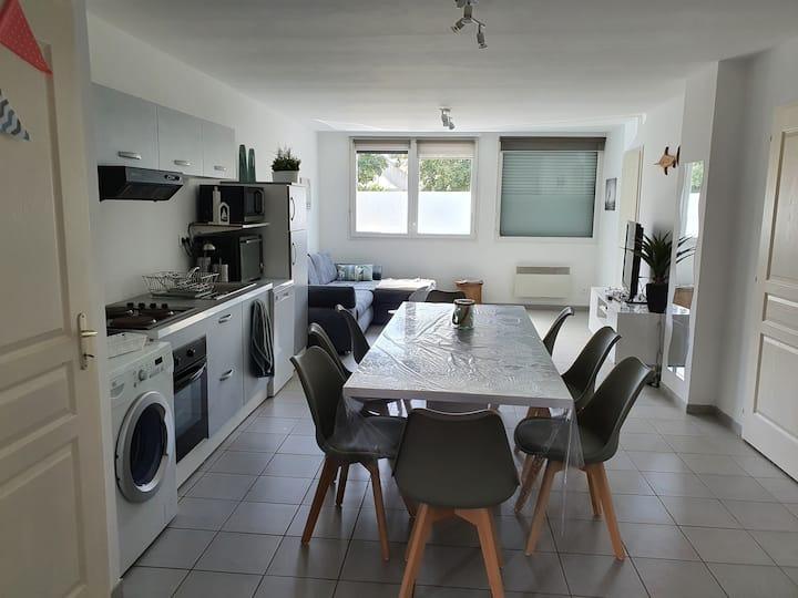 Appartement 72 m²  à 200 m de la Mer