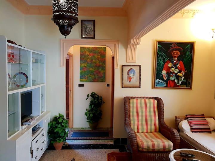 Comfortable central apartment 65m2 Asilah