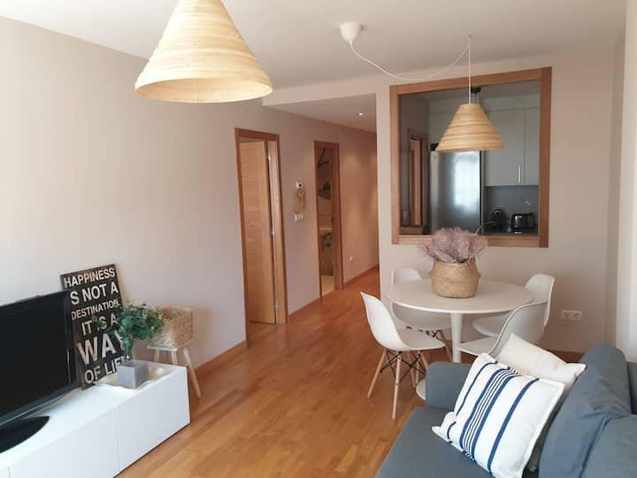 Brand new apartment in Concha beach (Rías Baixas)