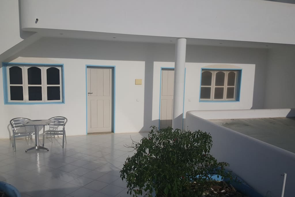 Rooms 1 & 2 open onto the terrace
