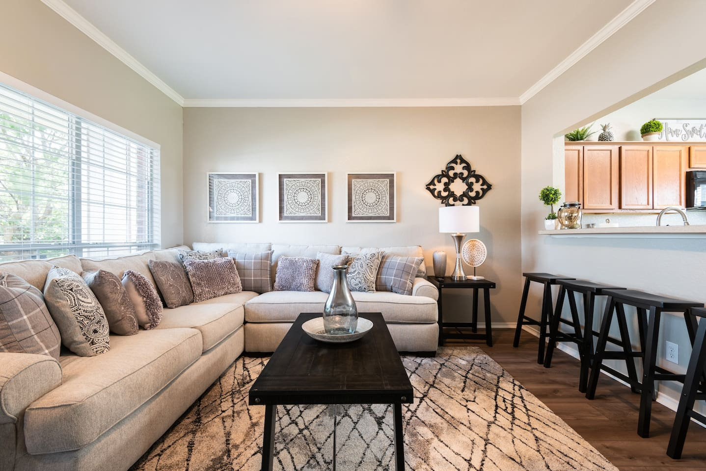Very comfortable family room