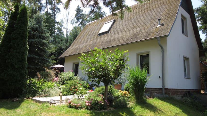 """Idylle in der Natur - Ferienhaus am """"Grünen See"""""""