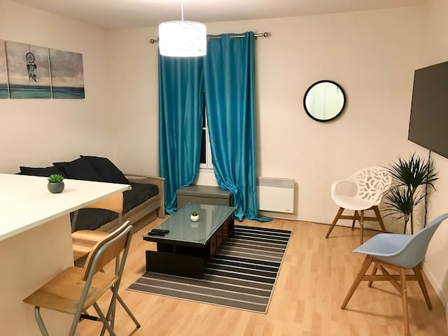 Super appartement à 5 min de DisneyLand, Central
