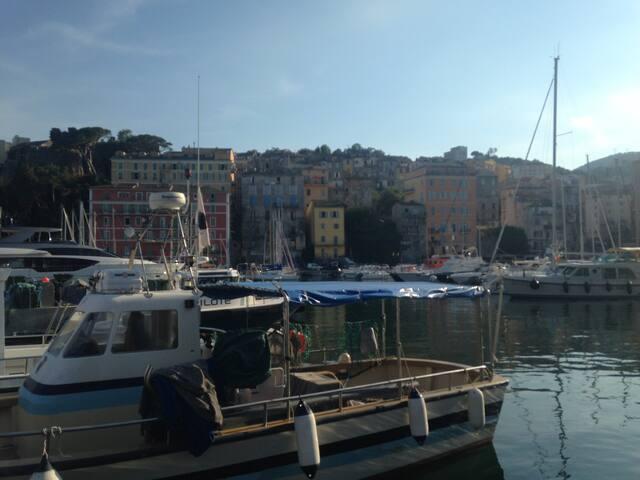 T2 plein de charme au cœur de Bastia clim parking